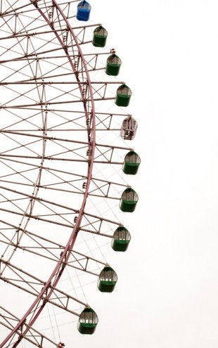 PHOTOWALL / Large Ferris Wheel (e24422)
