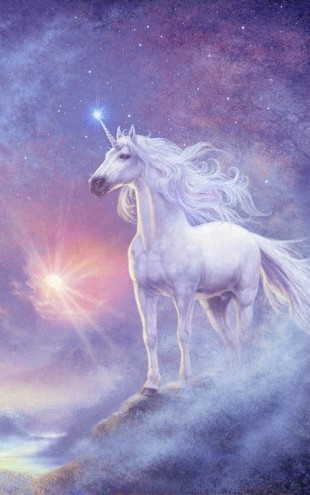PHOTOWALL / Astral Unicorn (e22788)