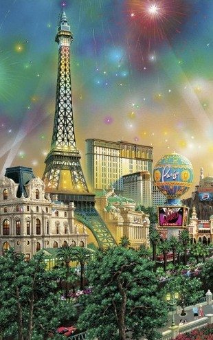 PHOTOWALL / Paris - Las Vegas (e22888)