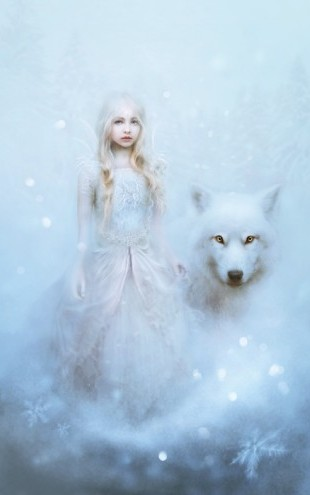 PHOTOWALL / Snow Princess (e23834)
