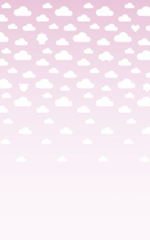 PHOTOWALL / Cloudspotting Pink (e40217)