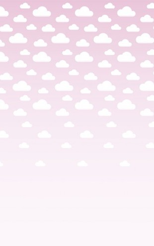 PHOTOWALL / Cumulus Pink (e40220)