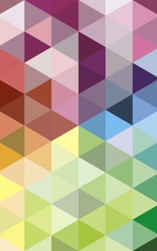 PHOTOWALL / Colorful Triangles (e25007)