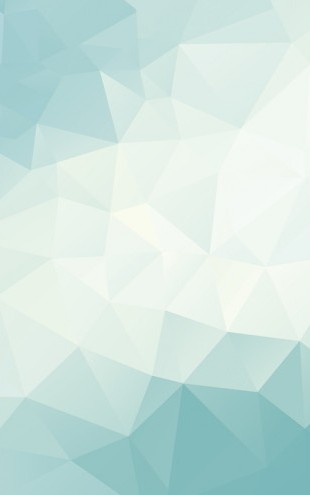 PHOTOWALL / Ice Blue Polygonal (e25030)