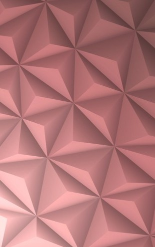 PHOTOWALL / Pink Geometric (e25038)