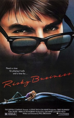 PHOTOWALL / Movie Poster Risky Business (e25225)