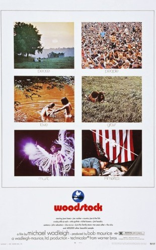 PHOTOWALL / Woodstock Photo Movie Poster (e25305)