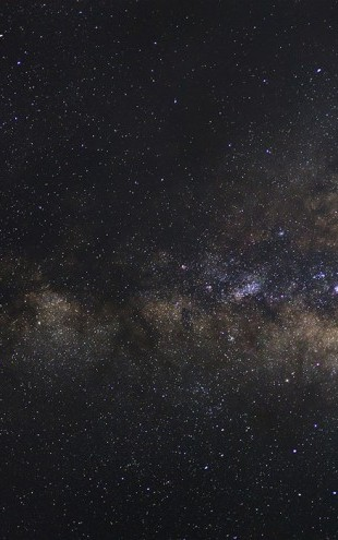PHOTOWALL / Milky Way Galaxy - Long Exposure (e25487)