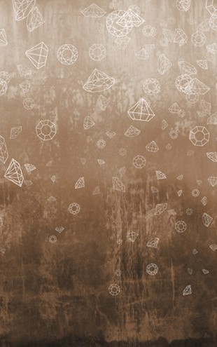 PHOTOWALL / Lost Diamonds - Copper (e24658)