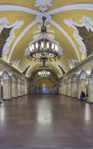 PHOTOWALL / Komsomolskaya Station, Moscow (e40367)