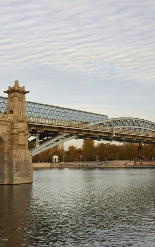 PHOTOWALL / Pushkinsky Bridge, Moscow (e40376)