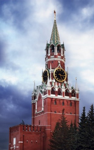 PHOTOWALL / Saviour Tower of the Kremlin (e40377)