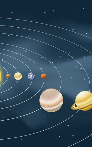 PHOTOWALL / Earths Solar System (e25587)