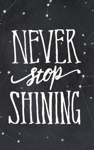 PHOTOWALL / Never Stop Shining (e25613)