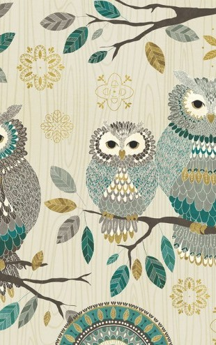 PHOTOWALL / Owl Trio (e25770)