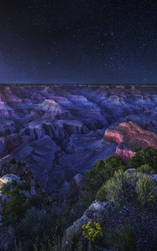 PHOTOWALL / Grand Canyon Night (e29641)