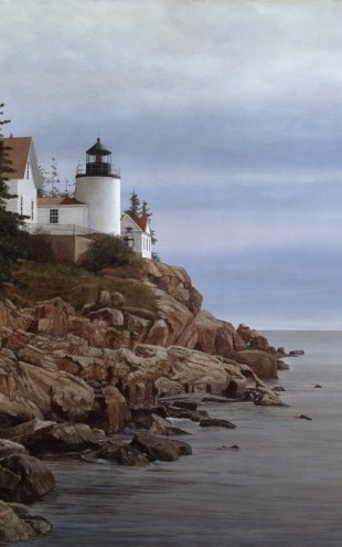 PHOTOWALL / Bass Harbor Light (e29798)