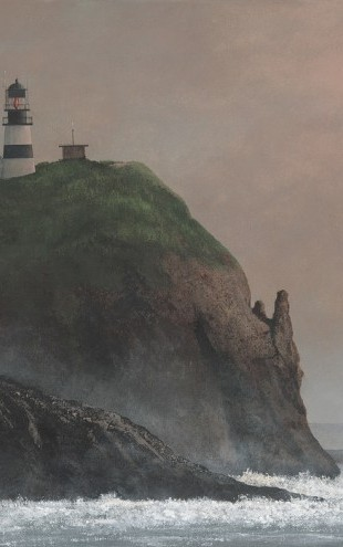 PHOTOWALL / Cape Disappointment Light (e29800)