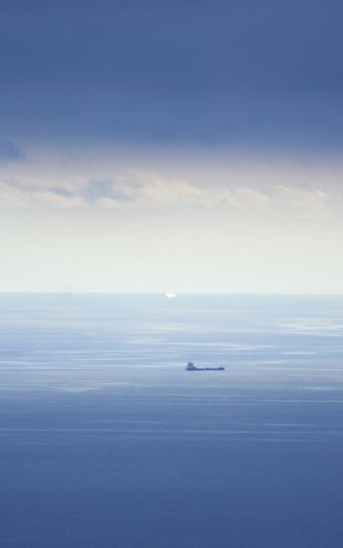 PHOTOWALL / Ship in Mediterranean Sea (e29943)