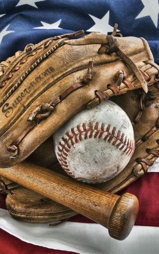 PHOTOWALL / Vintage Baseball Glove (e30072)