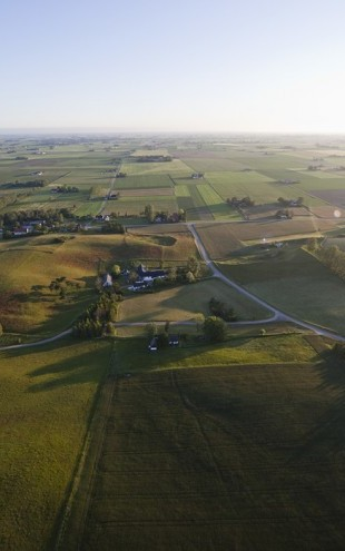 PHOTOWALL / Aerial View of Skane Countryside, Sweden (e40572)