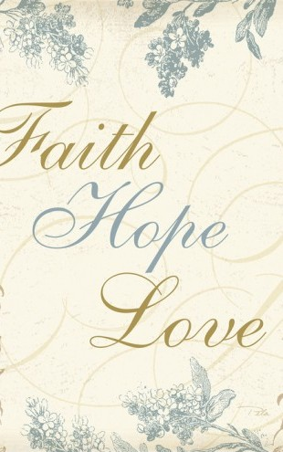 PHOTOWALL / Faith Hope Love (e30339)