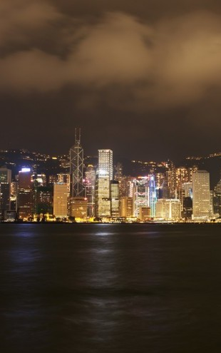 PHOTOWALL / Hong Kong Skyline (e40638)