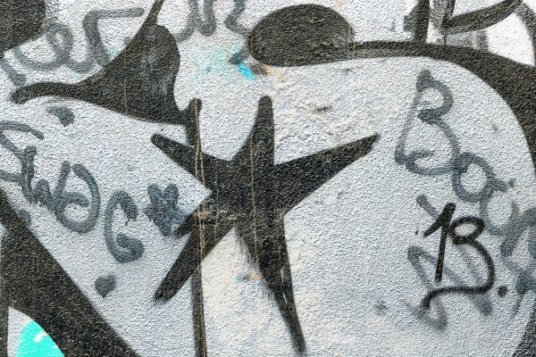 PHOTOWALL / Black Star Graffiti (e40657)