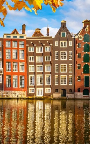 PHOTOWALL / Reflection of Amsterdam (e40679)