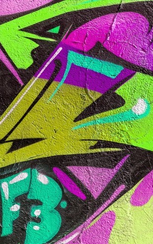 PHOTOWALL / Urban Graffiti Detail (e40686)