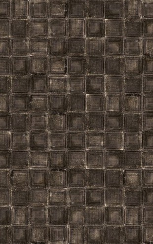 PHOTOWALL / Tin Plates - Brown (e30421)