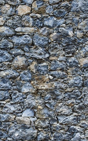 PHOTOWALL / Blue Stone Wall (e30585)