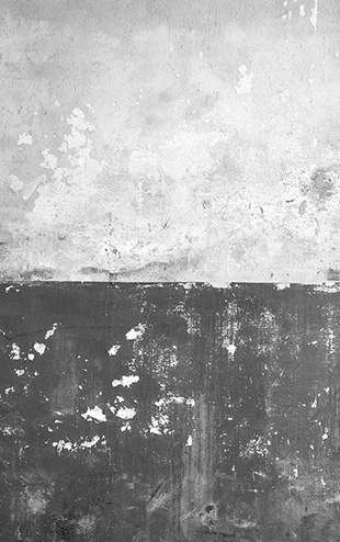 PHOTOWALL / Flaking Plaster Wall - Grey (e30661)