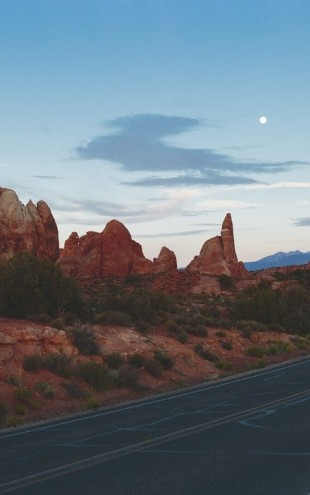 PHOTOWALL / Road in Arches National Park (e30839)