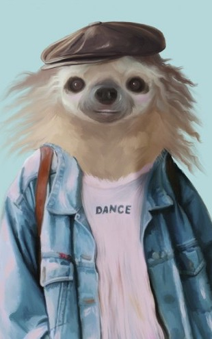PHOTOWALL / Sloth dance (e50349)