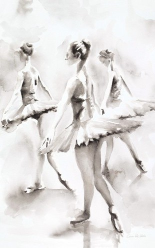 PHOTOWALL / Three Ballerinas (e311249)