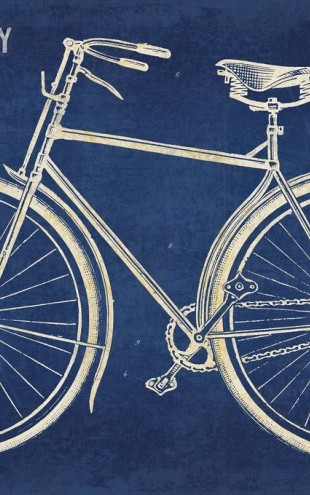PHOTOWALL / Blueprint Bicycle (e311274)