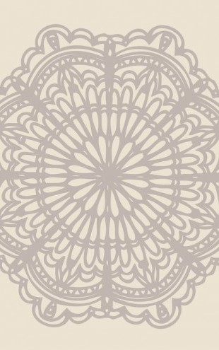 PHOTOWALL / Contemporary Lace Neutral (e312243)