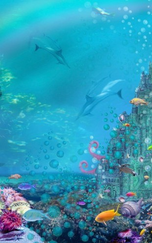 PHOTOWALL / Underwater Castle (e312364)
