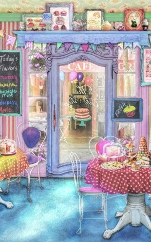PHOTOWALL / Vintage Cake Shop (e312350)