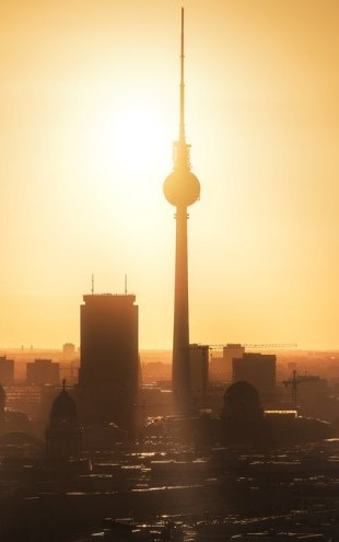 PHOTOWALL / Berlin - Skyline Sunrise (e313127)