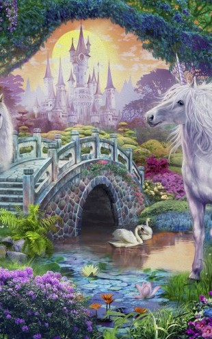 PHOTOWALL / Magical Unicorn Kingdom (e312582)