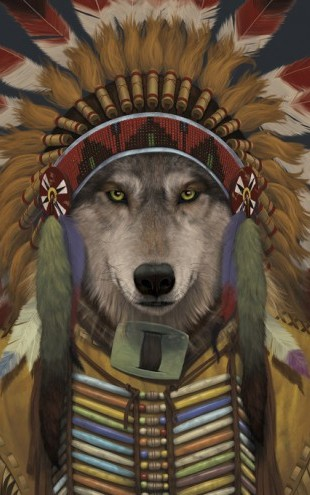 PHOTOWALL / Wolf Spirit Chief (e313870)
