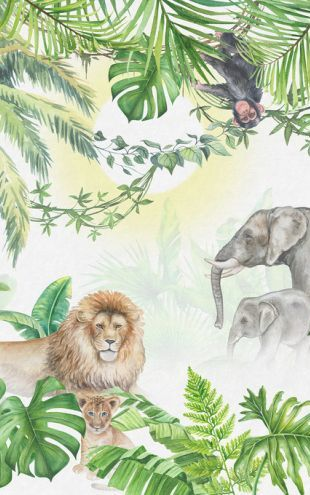 PHOTOWALL / Jungle Animals (e318425)