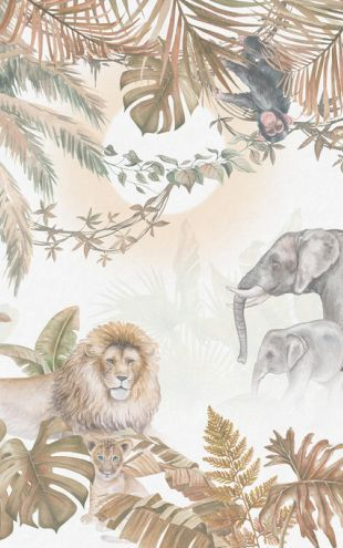 PHOTOWALL / Jungle Animals - Hazel (e318426)