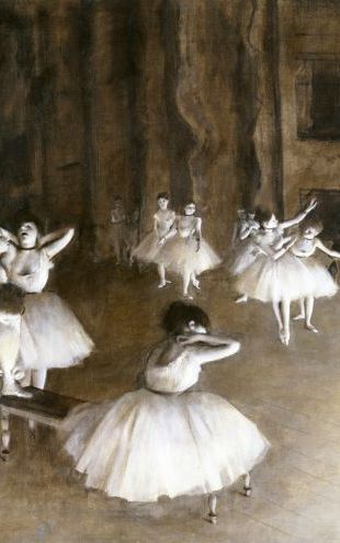 PHOTOWALL / Ballet Rehearsal on the Set - Edgar Degas (e317543)