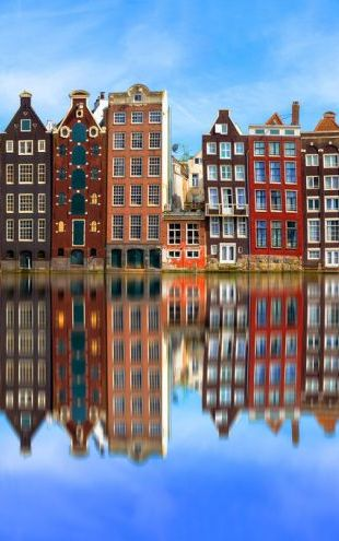 PHOTOWALL / Old Amsterdam Houses (e318162)