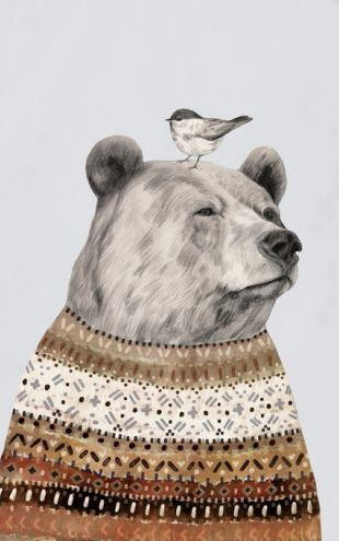 PHOTOWALL / Fair Isle Bear (e320538)