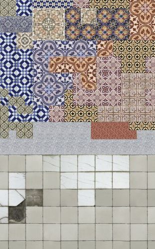PHOTOWALL / Tiles meets Tiles (e325522)