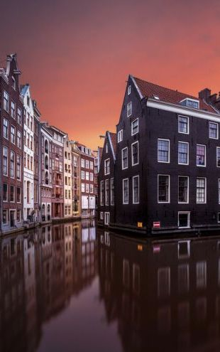PHOTOWALL / Amsterdam Dawn (e323816)